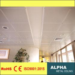 천장에서 놓이는 지붕에 의하여 중단되는 방음 금속 틀린 도와 금속 사각