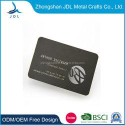 Moda em aço inoxidável sem Contato Metal Personalizado Visite Nome Cartão de visitas (05)