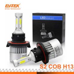 Auto voiture Ampoule de LED S2 S/N H13 Kit de Projecteur à LED 72W 8000lm