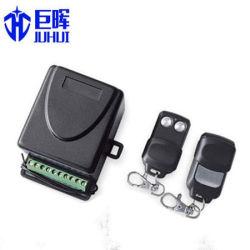 24V または 12V 2 チャンネルローリングコードおよびガレージドア用固定コードレシーバ