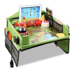 調節可能な肩のトラップが付いている多機能のFoldable安全なカー・シートの子供旅行皿