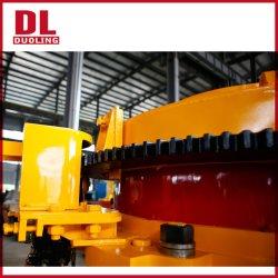 Duoling britador de pedra de granito da máquina planta da linha de produção