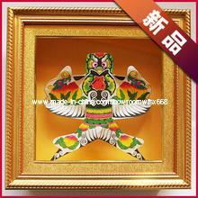China Native Kite com a estrutura para a Casa de Arte Decorativa, estrutura de decoração em madeira