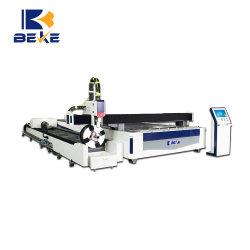 Tubo di taglio del laser della fibra di CNC di Beke e macchina del piatto per acciaio inossidabile, acciaio al carbonio, alluminio, rame