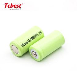 Venda por grosso Ni-MH bateria recarregável de 1,2V 2/3AA 200mAh bateria Cilíndrica Bateria NiMH