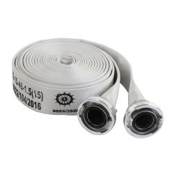 Manichetta antincendio del rivestimento del PVC (EN14540/CNBOP/MED)