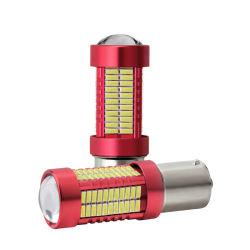مكابح السيارة ذات المصدر الأبيض Lamp1156 Ba15 s P21W 1157 Bay15D P21/5W مقبس لمبة LED Auto 4014 شريحة 78 SMD المؤخرة الخلفي تيار مستمر خفيف بجهد 12 فولت