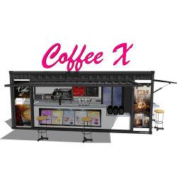 Hysun Café Pop-up Modifiied Mobile 20FT Contêiner Café Bar para venda com Novo Design