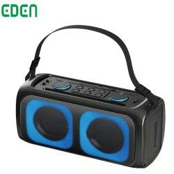 Último Bluetooth ® profesional recargable de audio inalámbrico privado Audio inalámbrico profesional Con altavoz de luces LED con correa ED-611