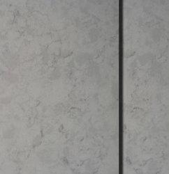 Gris resistentes al calor de Carrara contador/tableros de mesa de piedra de cuarzo