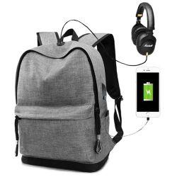 판촉 스타일의 다기능 스포츠 레저 컴퓨터 노트북 컴퓨터 백팩 가방 학생 및 매일 USB 충전과 함께 사용