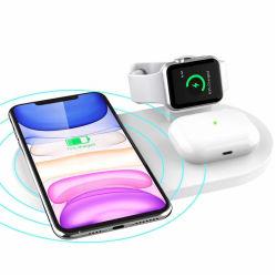 セリウムは携帯電話、ヘッドホーンおよび腕時計の充電器のための1匹の無線速い充電器に付き3匹を承認した