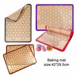 Silicone antiaderante di Bakeware della FDA riutilizzabile che cucina stuoia
