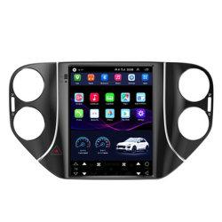 Giocatore radiofonico dello schermo di Tesla video del Android 8.1 dell'automobile di multimedia verticali di GPS in precipitare per percorso 2010-2015 dell'automobile di Volkswagen Tiguan