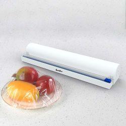 Lebensmitteltaugliche ABS Kunststoff Dispenser Cutter Frischhaltefolie Rolle Kunststoff-Wrap-Spender Slide Cutter Amazon Top Seller Küche