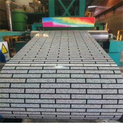 China Fabricação Prepainted PPGL PPGI bobina de aço revestido a folha de metal azul