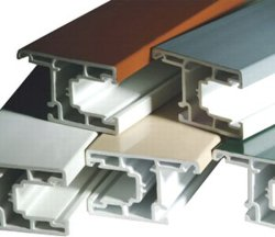 Profil en PVC - ASA / PVC Profils colorés de coextrusion