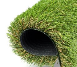 人工的な草のドアマットの擬似草の敷物の入口カーペットの土マット 屋内屋外のための現実的な緑の景色芝生のパッドの合成草 芝生