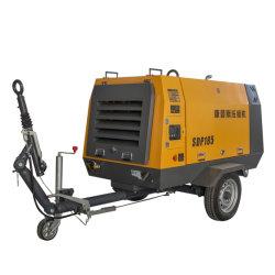 Ja stummer und Dieselenergiequelle-Schrauben-Luftverdichter SDP185