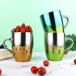 Neuer Entwurfs-kundenspezifischer Steigung-Farben-keramischer Cup-Spiegel-keramische Kaffeetassen