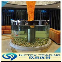 China de la Ronda de gran tamaño, Fish Tank de acrílico transparente personalizado del depósito de Acuario ronda