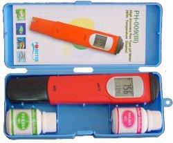 Alta sensibilidad, rapidez de respuesta Medidor de pH (pH-009(III)).