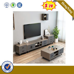 Table à café de couleur gris élégant meuble TV Accueil Salle de séjour Furnitur utiliser meuble TV