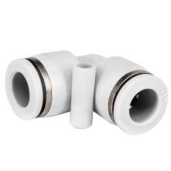 Los racores de conectores de tubo neumático codo de tubo, PV articulaciones