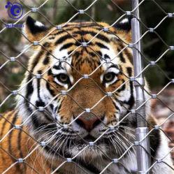 Flexible en acier inoxydable corde artisanal mesh clôture de sécurité de l'élevage pour le zoo du parc de clôture