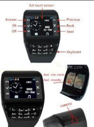 SIM reloj teléfono de marcación (P888)