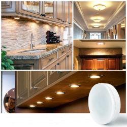 공장에서 직접 판매 기존 꽃잎 플라스틱 Gx53 LED 램프 베이스 8W(SMD2835 램프 비드 포함)/CE RoHS 승인/언더 캐비닛 다운라이트 LED 천장 조명