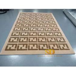 유명한 디자인 핫 세일 손으로 만든 울 카펫 타일이 손으로 장식되어 있습니다 세일 러그