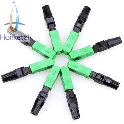 Heißer Verkauf SC / APC Kunststoff schnell-Steckverbinder Glasfaser-Ausrüstung FTTH-Tools zur Prüfung von Glasfaserverbindungen