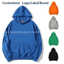 면 스웨터 도매 Hoodie 재고 Hoodies 대량 남자 또는 여자 옷 남녀 공통 착용 디자이너 개인 상표 의류 주문 로고 또는 상표 특대 의복 Hoody