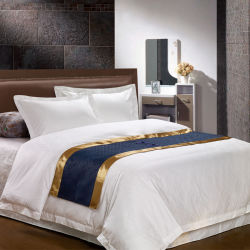 Super Macio 100% algodão roupa de cetim define mecanismos Jacquard Conjuntos de roupa de cama