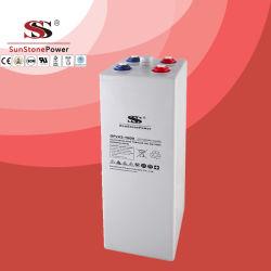 2-1000Opzv ah Gel tubulaire à cycle profond batterie solaire