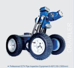 Caméra d'inspection des pipelines d'égouts avec Robot Crawler, 90mm de diamètre, 160 mm de longueur, Pan/ caméra d'inclinaison