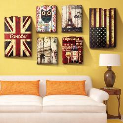 新製品のPrinttingの印のホーム装飾のための木の壁掛けDeco