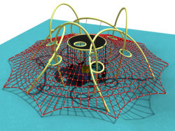 Веревки Скалолазание для использования вне помещений спортивных товаров для детей (TY WZO-1601)