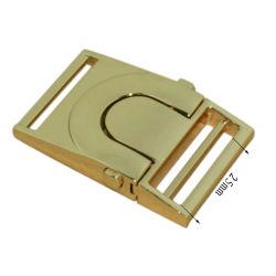Sacos de venda promocional de liberação lateral rápido de Hardware fivela metálica