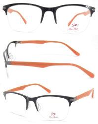 2015 de Klassieke Optische Acetaat van de Manier Gemerkt de Halve Frames van Eyewear van de Rand