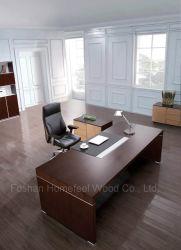 Le chêne noir moderne en bois Meubles de Bureau exécutif Table Boss (HF-SID001)