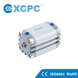 ISO6431 Alumínio Advu Praça de ar pneumática Micro tipo fino Cilindro Compacto