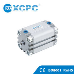 ISO6431 Festo Advu Praça de ar pneumática de alumínio fino Micro Cilindro Compacto