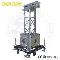 Support de masse de la tour de 2000kg du poids de charge de la tour de treillis