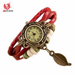 Minder dan de Uitstekende Mode Watches#V939 van de Dames van de Armband van de Pols van de Riem van het Leer 1$
