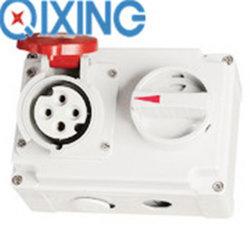 CEE/Ice mechanische Verriegelungsbuchse mit Schaltern für industrielle Anwendungen (QX7275)
