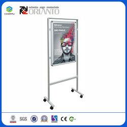 Aluminiumsystems-Innen- und im Freienbekanntmachenbildschirmanzeige-Wasser-Becken-Verschluss-Plakat-Rahmen