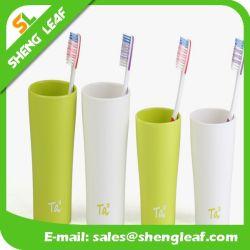 Plastic mok Promotionele Fashion Soft PVC Cup (SLF-PM001)