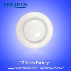 Soupape à disque en plastique de la fabrication exquis diffuseur d'air pour système de CVC